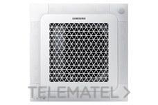 Unidad interior cassette mini frío 1,6KW calor 2,0KW con referencia AJ016NBNDEH/EU de la marca SAMSUNG.