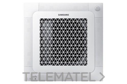 Unidad interior cassette mini frío 5,2KW calor 5,6KW con referencia AJ052NBNDEH/EU de la marca SAMSUNG.