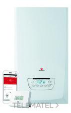 Kit caldera THEMAFAST CONDENS 25 + MiGo gas natural clase de eficiencia energética A+ con referencia 12121495 de la marca SAUNIER DUVAL.