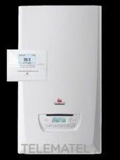 Kit caldera THEMAFAST CONDENS 30 gas natural clase de eficiencia energética A+ con referencia 0010019545 de la marca SAUNIER DUVAL.
