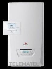 Kit caldera THEMAFAST CONDENS 30 (P-ES) + EXACONTROL gas propano clase de eficiencia energética A con referencia 12222806 de la marca SAUNIER DUVAL.