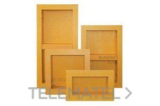 Hornacinas prefabricadas KERDI-BOARD-N 305x305mm para pared con referencia KB12N305305A de la marca SCHLUTER.