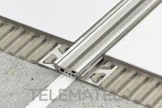Perfil de junta DILEX-BT-A 12,5mm aluminio 2,5m con referencia ABT125 de la marca SCHLUTER.