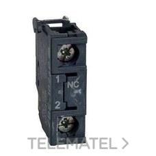 SCHNEIDER ELEC ZBE102 BLOQUE/BLOQUEO CONTACTO ESTANDAR SIMPLE 1NC TORNILLO