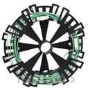 ELEMENTO LINEA KDP L+N-PE ENTREEJE 1350mm 192m con referencia KDP20ED2183135 de la marca SCHNEIDER ELEC.