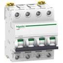 INTERRUPTOR AUTOMATICO MAGNETOTERMICO IC60N 4 POLOS 50A CURVA-C con referencia A9F79450 de la marca SCHNEIDER ELEC.