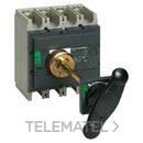 PROLONGADOR FRONTAL INS320/400/630 MANDO ESTANDAR con referencia 31052 de la marca SCHNEIDER ELEC.