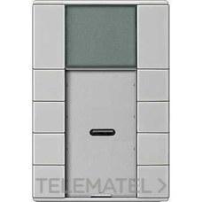 TERMOSTATO ARTEC PULSADOR PLUS 4 ELEMENTOS ACERO con referencia MTN6214-4146 de la marca SCHNEIDER ELEC.