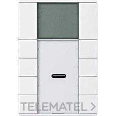 TERMOSTATO ARTEC PULSADOR PLUS 4 ELEMENTOS BLANCO con referencia MTN6214-4019 de la marca SCHNEIDER ELEC.