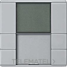 TERMOSTATO CON DISPLAY ARTEC ALUMINIO con referencia MTN6241-4060 de la marca SCHNEIDER ELEC.
