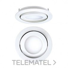 DOWNLIGHT EMPOTRABLE CIRCULAR LED 8W 4K 1-10V BLANCO con referencia 4297080184DR de la marca SECOM.