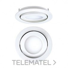 DOWNLIGHT EMPOTRABLE CIRCULAR LED 8W 4K DALI DORADO MATE con referencia 4297083384DRD de la marca SECOM.