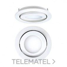 DOWNLIGHT EMPOTRABLE CIRCULAR LED 8W 4K DALI NEGRO con referencia 4297080284DRD de la marca SECOM.