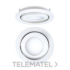 DOWNLIGHT EMPOTRABLE CIRCULAR LED 8W 4K DRIVER CROMO MATE con referencia 4297085284 de la marca SECOM.