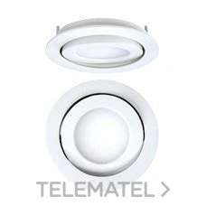 DOWNLIGHT EMPOTRABLE CIRCULAR LED 8W 57K DALI BLANCO con referencia 4297080185DRD de la marca SECOM.