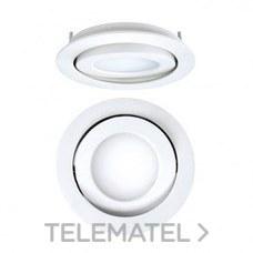 DOWNLIGHT EMPOTRABLE CIRCULAR LED 8W 57K DALI CROMO con referencia 4297080585DRD de la marca SECOM.