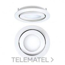 DOWNLIGHT EMPOTRABLE CIRCULAR LED 8W 57K DALI CROMO MATE con referencia 4297085285DRD de la marca SECOM.