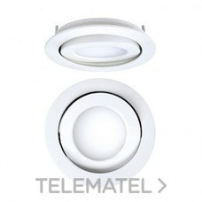 DOWNLIGHT EMPOTRABLE CIRCULAR LED 8W 57K DALI NEGRO con referencia 4297080285DRD de la marca SECOM.