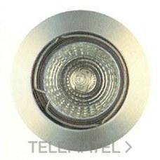 DOWNLIGHT FIJO ZAMAC 12V-50W 50mm SERIE 285 NEGRO con referencia 28702 de la marca SECOM.
