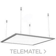 LUMINARIA ESLIM LED SUSPENSION 40W 3300K BLANCO con referencia 42100183 de la marca SECOM.