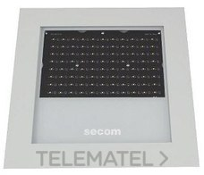 LUMINARIA PROTEKQ3 LED EMPOTRABLE 200W 3000K+80º NEGRO con referencia 4700022083 de la marca SECOM.