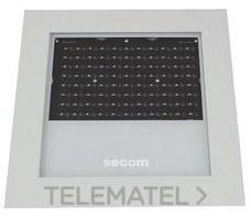 LUMINARIA PROTEKQ3 LED ORIENTABLE 100W 3000K+80 NEGRO con referencia 4702021083 de la marca SECOM.