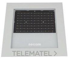 LUMINARIA PROTEKQ3 LED SUPERFICIE 200W 3000K+80º NEGRO con referencia 4701022083 de la marca SECOM.