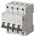 AUTOMATICO MAGNETOTERMICO 400V 6kA 4 POLOS C 40A con referencia 5SL6440-7 de la marca SIEMENS.