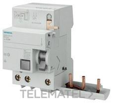 Interruptor diferencial clase-ac 2 polos 25a 300ma 70mm Siemens 5sv