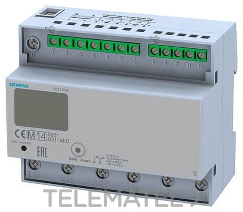 MODULO CONEXION DIRECTO/A 125A PUESTA 0 CALIBRADO 125A con referencia 7KT1548 de la marca SIEMENS.