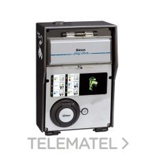 Caja recarga básica 1 toma con módulo bloqueo con referencia 0600261-039 de la marca SIMON.