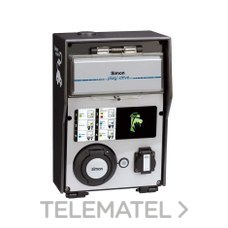 Caja recarga básica 2 tomas con identificadora RFID con referencia 0600312-039 de la marca SIMON.
