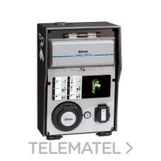Caja recarga básica 2 tomas con medidor energía con referencia 0600342-039 de la marca SIMON.
