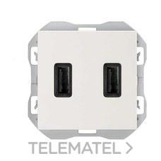 SIMON 20000196-090 S270 CARREGADOR USB DOBLE A+A (3,1A) BL