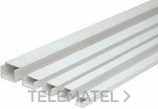 SOLERA 9161020 MINICANAL RECTO 10x20mm ADHESIVO(PZA.2m)