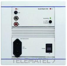 SONELCO P3221-01 Central 1 canal estéreo 25VA blanco