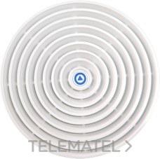 SONELCO P4281-01 Centro rejilla termoplástico ABS blanco