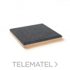 Baldosa aislante TEXLOSA R 40/35 G 600X600mm con referencia 00109560-GRIS de la marca SOPREMA.