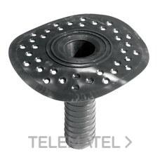 Cazoleta EPDM sifón 110mm para desagüe de cubiertas para evitar malos olores con referencia 00071230 de la marca SOPREMA.