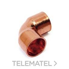 STANDARD HIDRAULICA F090018 Codo 5090 90º H-H diámetro 18 cobre