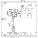 Interior A-6 MPB PE20 6m3/h PS21mbar 1 contador G-4 con referencia 110005 de la marca STANDARD HIDRAULICA.
