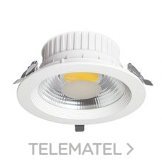 DOWNLIGHT COBDOWN ROUND 20W 210mm DE CORTE con referencia 100862 de la marca SULION.