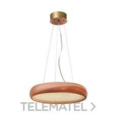 LUMINARIA COLGANTE SATURNO LED 30W COBRE con referencia 189098 de la marca SULION.