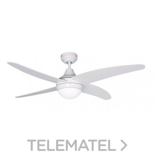 Ventilador de techo 2xE27 40W máximo acabado en blanco con referencia 75148 de la marca SULION.