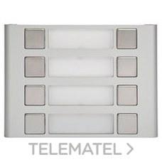 TEGUI 0E1208 Módulo 8 pulsadores en 2 columnas