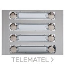 TEGUI 375280 Módulo 8 pulsadores 2 columnas