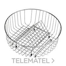 CESTA VARILLA REDONDA DIAMETRO 325x145mm con referencia 40199039 de la marca TEKA.