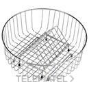 CESTA VARILLA REDONDA DIAMETRO 350x145mm con referencia 40199038 de la marca TEKA.