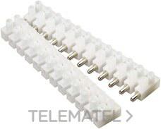 TEKOX 1010 E-N-C Conjunto regleta conexión 12P 10mm especial