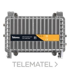 Amplificador intemperie canal retorno Matv 40-60V con referencia 4513 de la  marca TELEVES.
